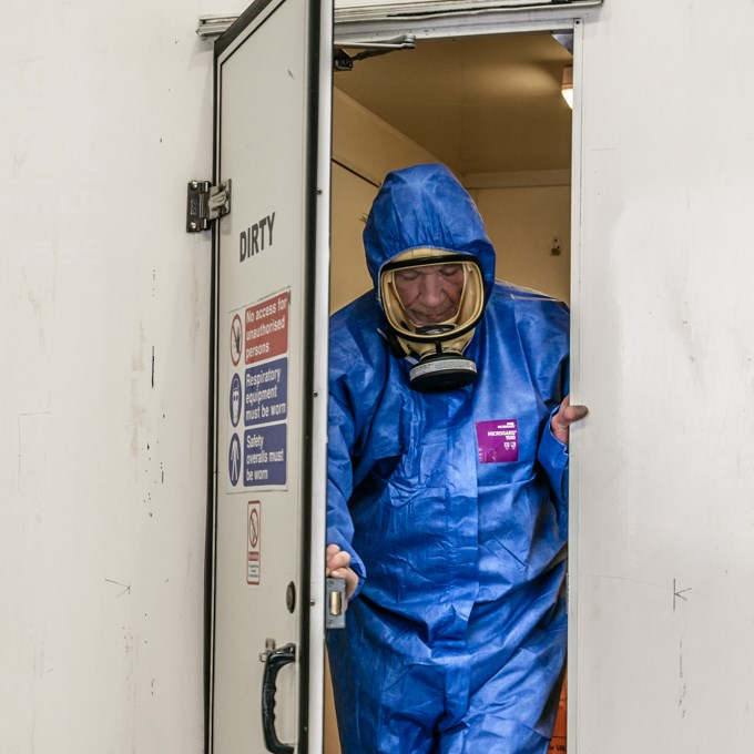 ATaC adds Full Decontamination to Analyst Qualification