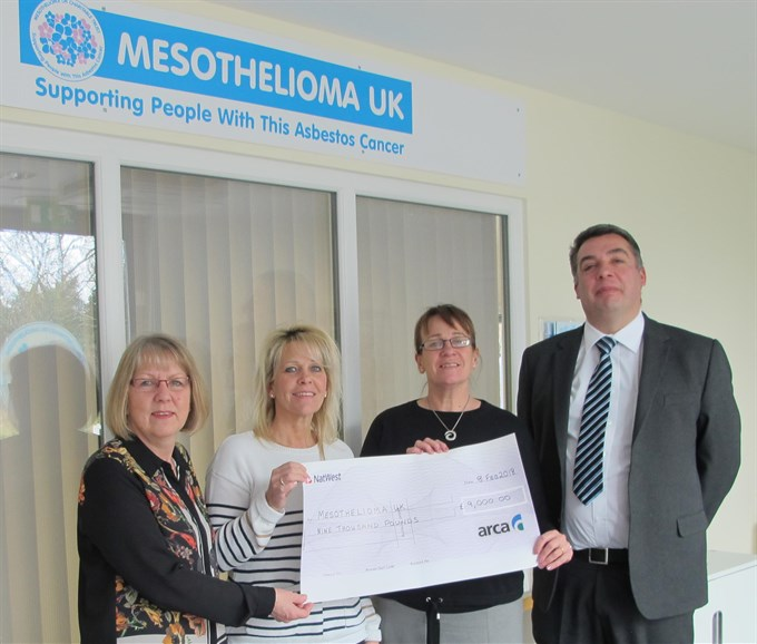 ARCA and ATaC Members support asbestos cancer patients