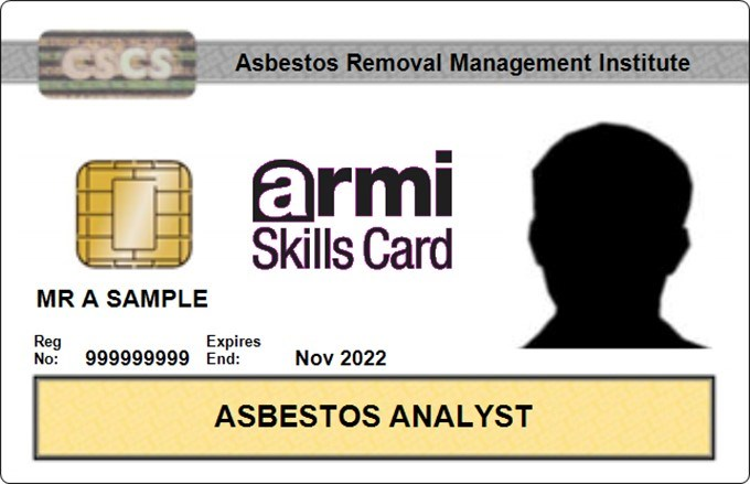 ATaC now issuing Asbestos Analyst and Surveyor CSCS Cards