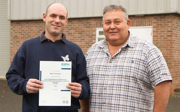 ARCA delivers First RSPH NVQ assessments in UK
