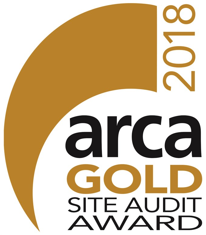 ARCA announce winners of Gold Site Audit Award 2018