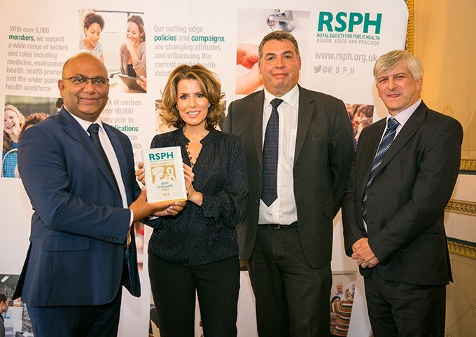 Association receives Centre of Excellence Award from RSPH