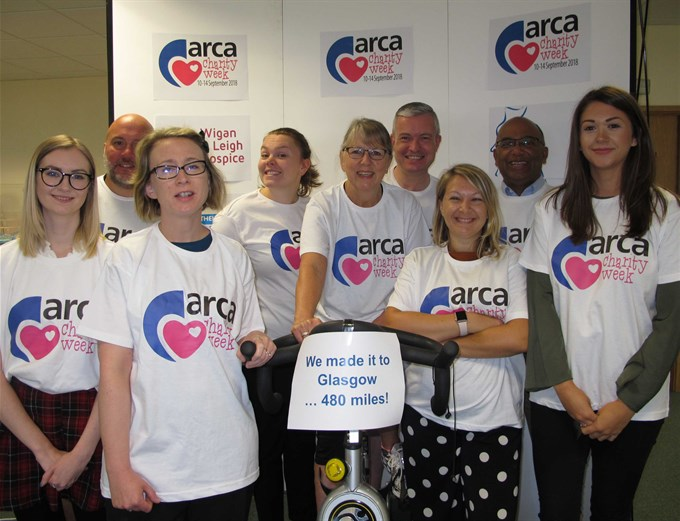 ARCA Staff Complete Bike Challenge for Charity