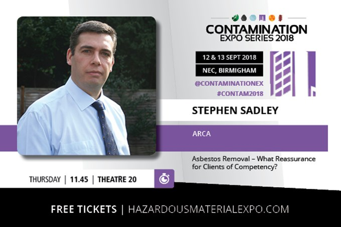 ARCA Speaking at Contamination Expo Series 2018