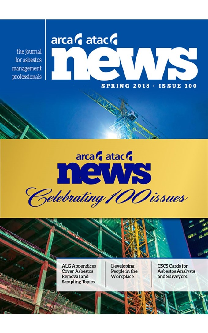 ARCA News celebrates 100th issue