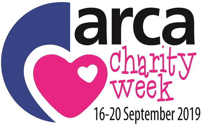 Get Involved in the ARCA Charity Week 2019