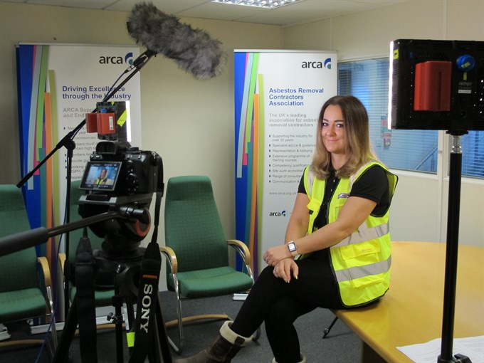 ARCA supports CITB in making an asbestos awareness video